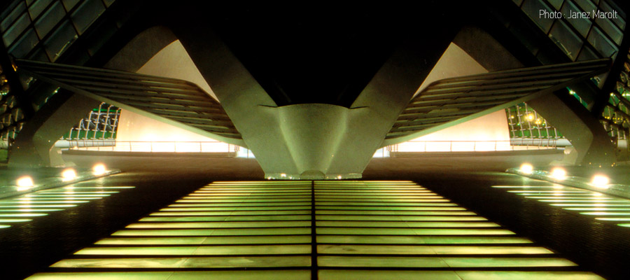 Santiago Calatrava, Valencia, Španija
