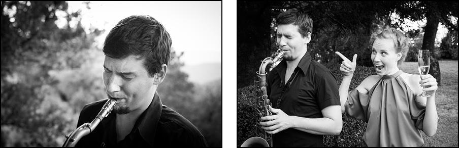 14_saksofonist_fotografiranje_porok_Janez_Marolt Poroka Štanjel