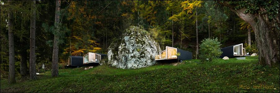 Ekokoncept-Bled-počitniške hiške v zelenju