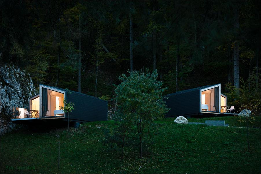 Ekokoncept-Bled- večerna panorama