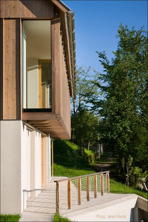 Hiša v Doslovčah - Kombinat arhitekti - vodni del