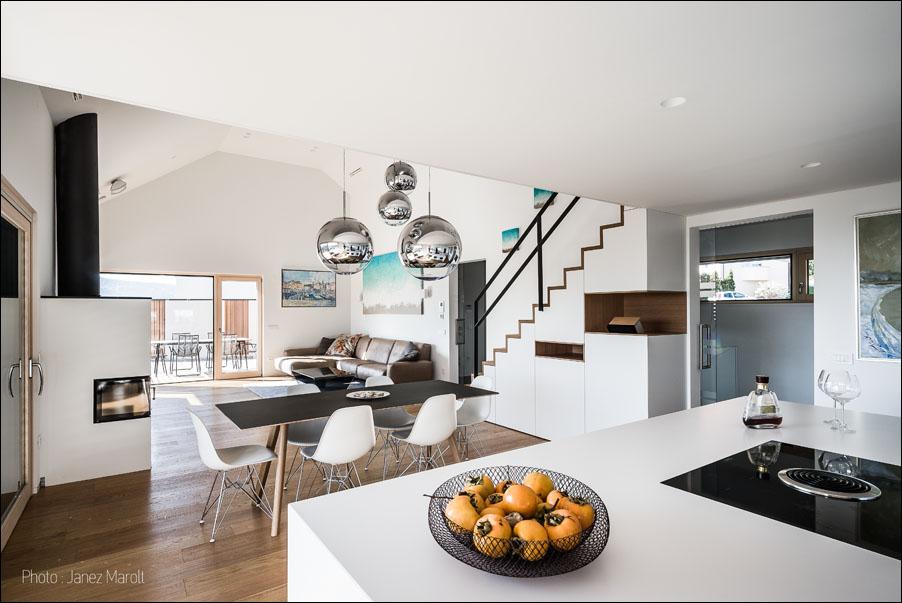 Hisa_arh_Ivana_Hainz-kuhinja in dnevna soba