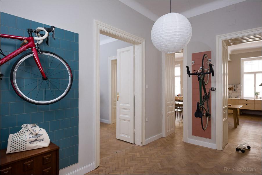 Kombinat arhitekti - stanovanje na Dunaju - predsoba