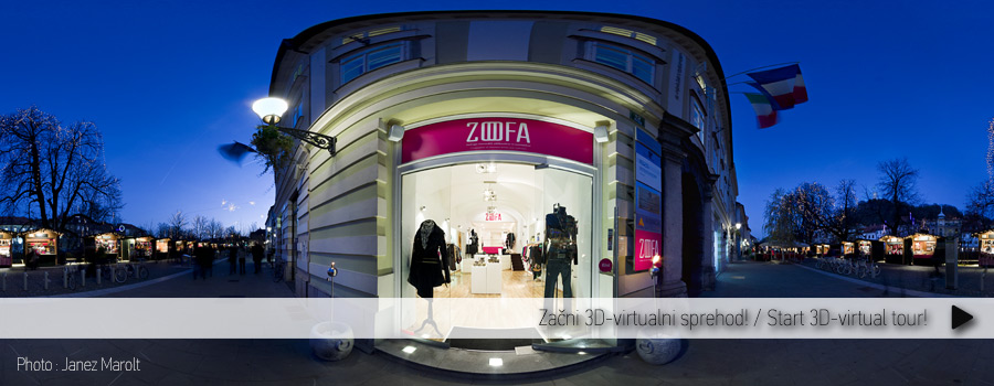 3D-virtualni sprehod - salon Zoofa