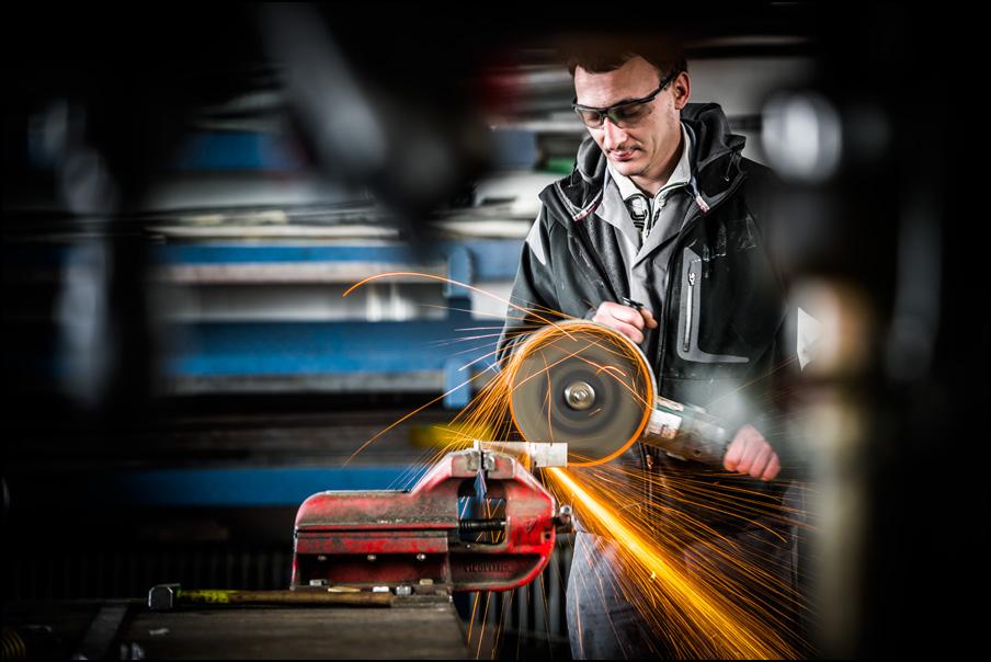 V metalurški delavnici