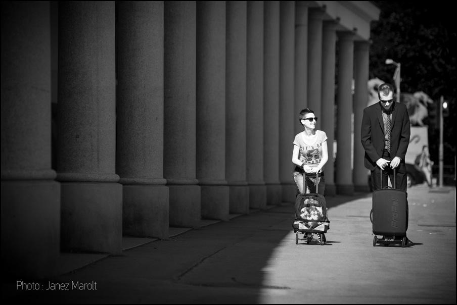 Lifestyle fotografiranje izdelkov - Olaf scooter, skiro Olaf