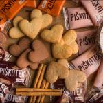 Ponudba srčkov-piškotov pekarne Jurček