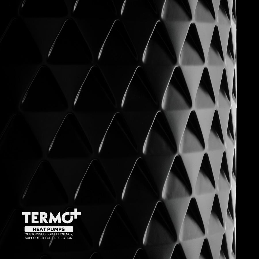 Fotografiranje industrijskih izdelkov - studijska produktna fotografija: Janez Marolt - toplotna črpalka Termo+, Termo shop