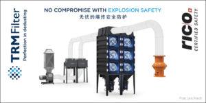 Trm Filter - fotografija industrijskih protiprašnih filtrov