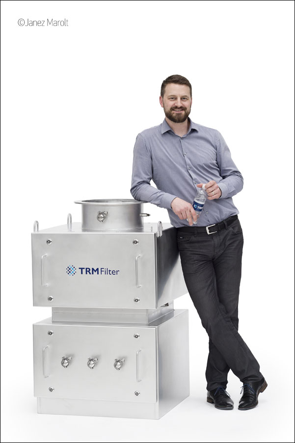 TRM filter - Industrijska fotografija izdelka: Janez Marolt