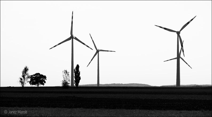 Veterne elektrarne - obnovljivi viri energije
