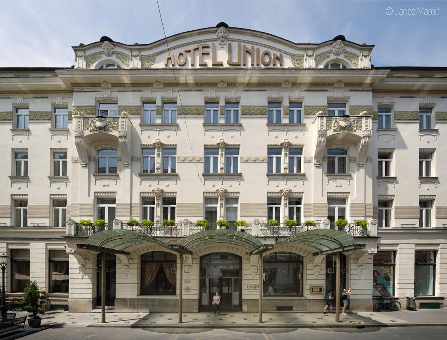 Fotografiranje hotelov - Grand hotel Union, profesionalni arhitekturni fotograf: Janez Marolt