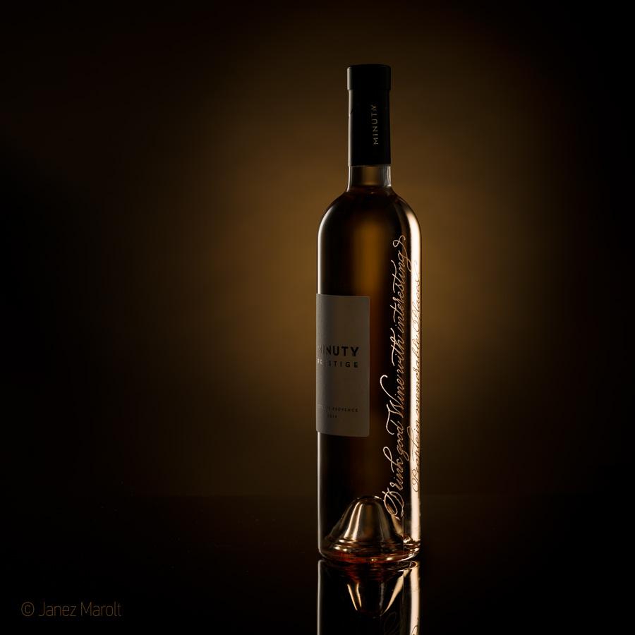 Image fotografiranje steklenic - reprezentativno reklamno fotografiranje izdelkov  - produktna fotografija: Janez Marolt